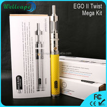 2015 EGO II TWIST max vapor electronic cigarette accept paypal