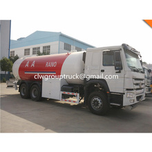 12Tons LPG gas trucks road tanker SINO HOWO LPG carrier