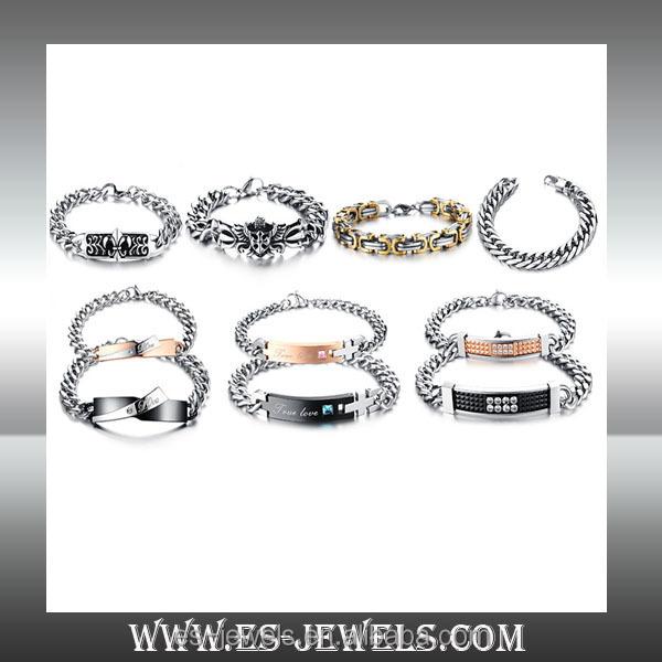 (5)Titanium steel bracelet