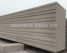 Manufacturer of lightweight precast concrete partition wall panel AAC panel