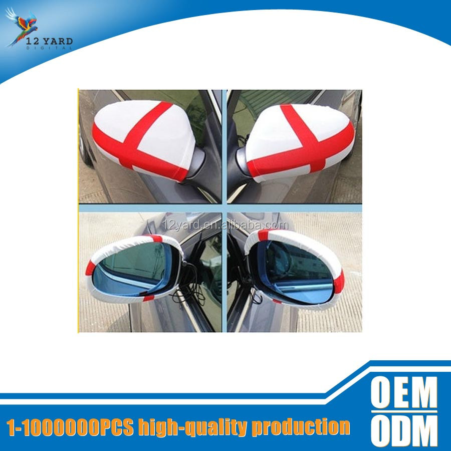 Custom England flag Car Side Mirror Covers/Rear view mirror covers