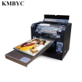 The inkjet a3 size UV led multi colors flatbed printer for the tile printer/with the vivid color