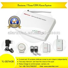 hot sales wireless sim card alarm system alarm system paradox Business/Home GSM MMS security Alarm System YL--007M3B
