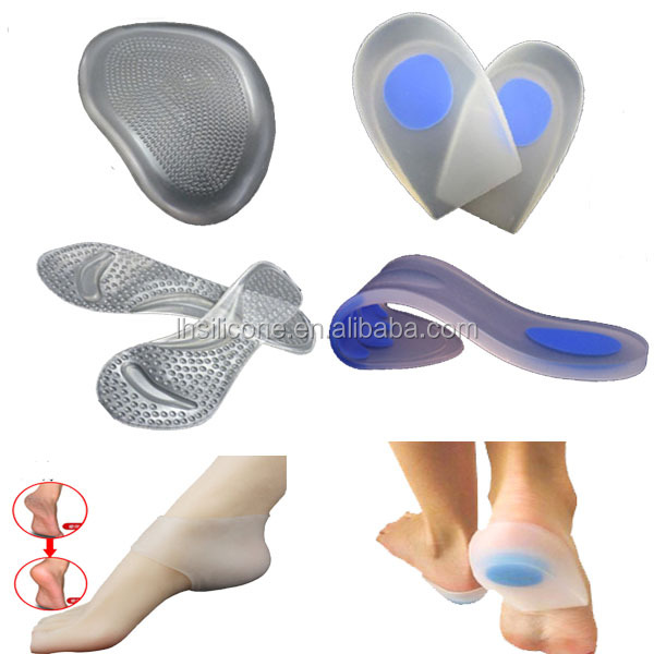 Medical Orthopedic Insoles/ moldable RTV silicone insole