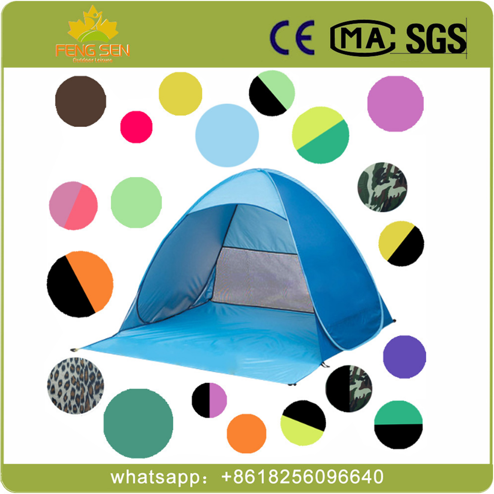 Factory Sale Cheaper Camping Tent pop up beach tent use for 2 person