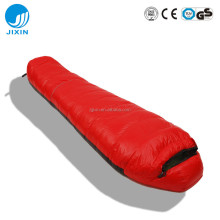 Goose Down Mummy Sleeping Bag for camping