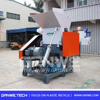 high quality plastic waste crusher/pet bottle waste shredder