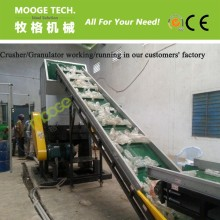 Stable performance crushing machine line for PET bottles
