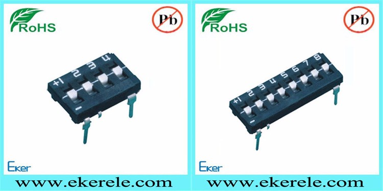 DTH 4-12 Position Three State Dip Switch With RoHS EKER.jpg