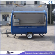 JX-FR280B Commercial Trail-type Fast Food Trailer / Fast Food Mobile Kitchen Trailer / Snack Food Vending Machine