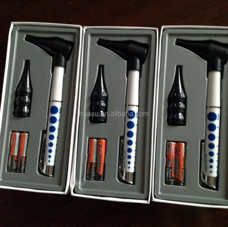 cheap portable otoscope Diagnostic otoscope gift set Optical otoscope