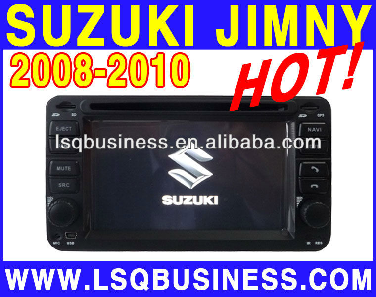 high quality LSQstar car dvd player for suzuki jimny with dvd/bluetooth/TV/ipod on-sale!hot!drive your life!