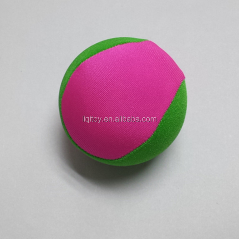 Hot sale custom design logo lycra and TPR material water ball that bounces on water