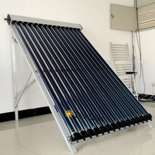 18tube pressurized solar collector for European market
