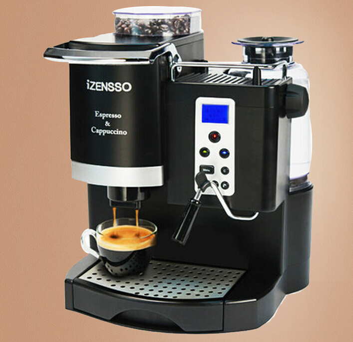 professionnel enti rement automatique espresso machine. Black Bedroom Furniture Sets. Home Design Ideas