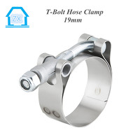 T-Bolt Clamps 304 Stainless Steel Band Bolt and Nut 46-52 mm