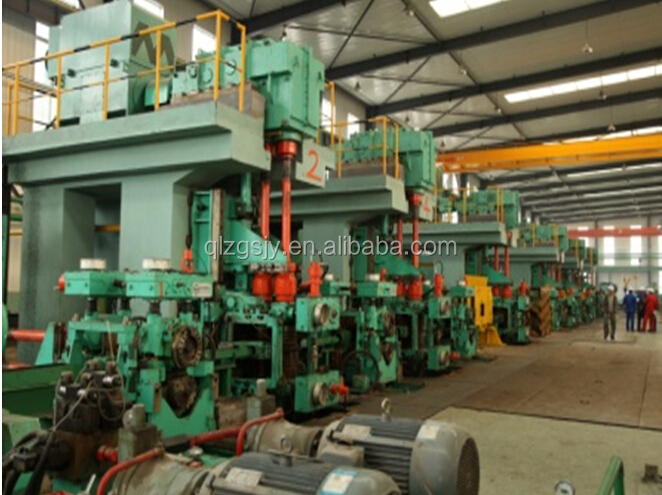 high tensile and high yield deformed steel bar rolling mill and machine