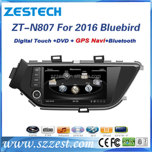 ZESTECH factory car audio system for Nissan Bluebird 2016 auto parts