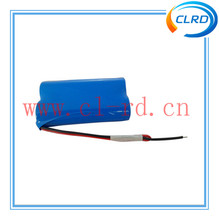 1s2p 3.7v icr 18650 2600mah battery li-ion 3.7v rechargeable battery pack for power bank 5200mah