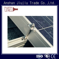 Crack and good thermal performance aluminum extrusion solar panel mounting frame