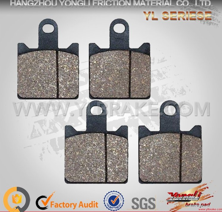 Factory Supply Good Quality Motorcycle/electric scooter/dirt bike/ATV brake pad for KAWASAKI-ZX6R Z 1000