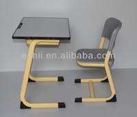 used school desk chair/cheap school desk and chair/portable desk and chair
