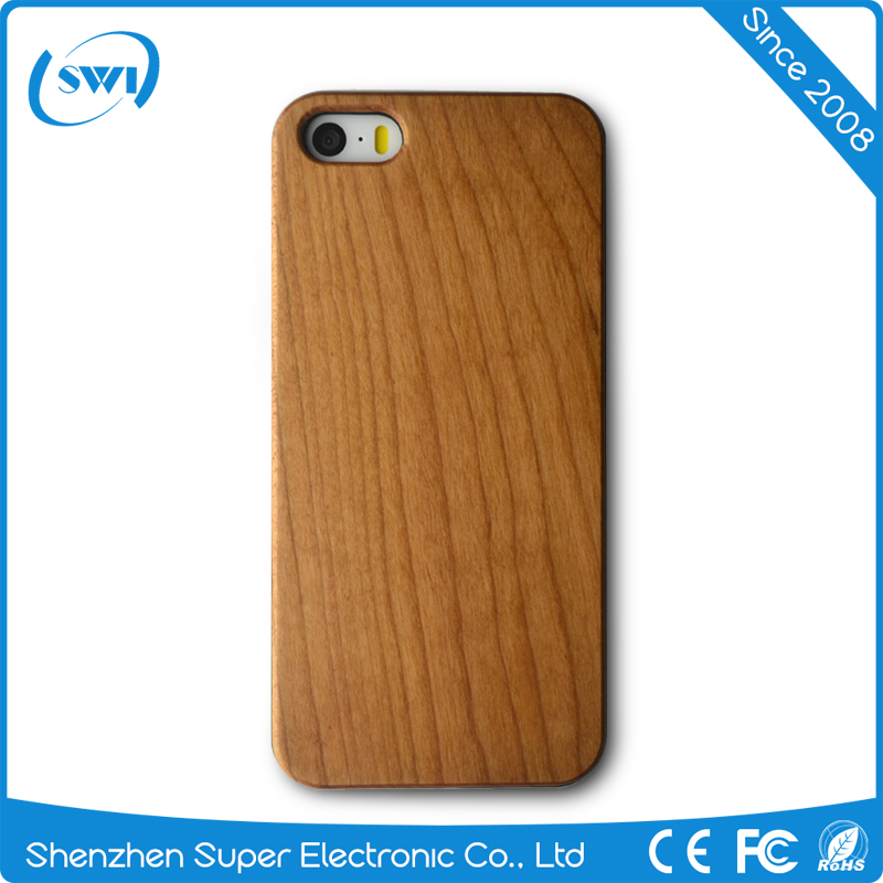 Factory price wooden cell phone case for iphone 5 5s SE,hard case for iphone 5 5s SE