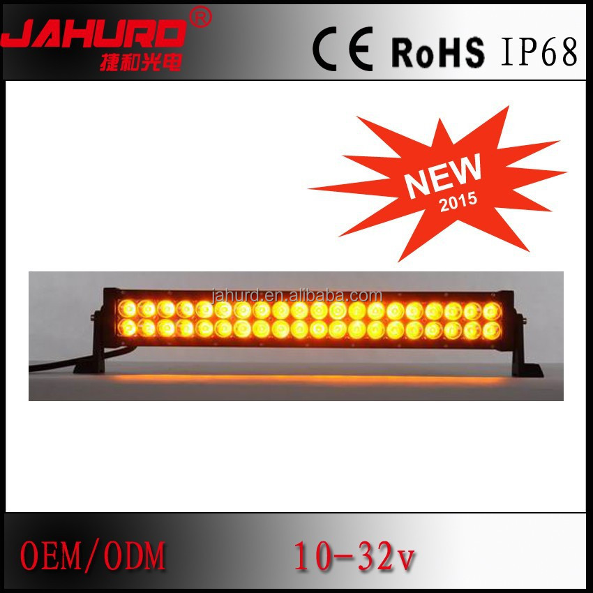 double row 4x4 off road led light bar 120w 12v amber led light bar remote control light bar led