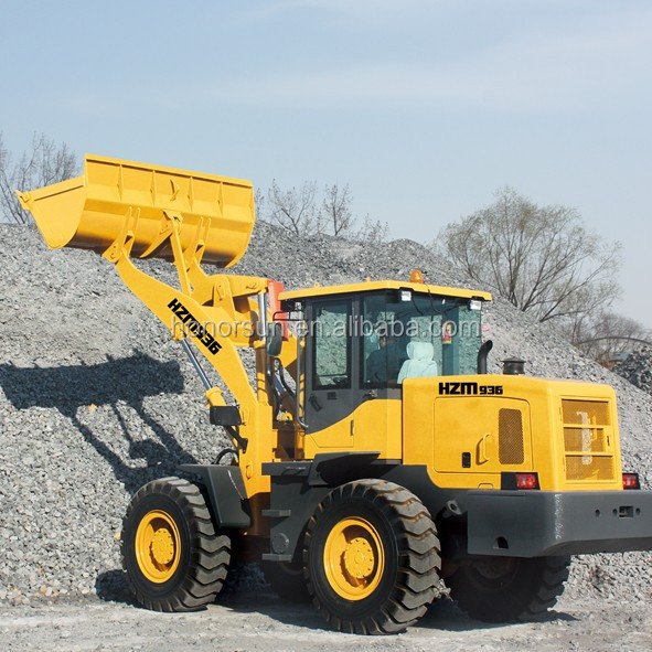 High quality 936 front loader 3t wheel loader with CE
