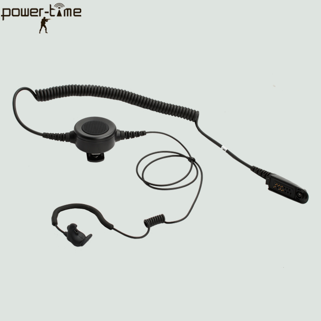 Military spec lightweight in-ear headset for msa gallet helmets