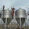 MH Small Steel Chicken Feed Silo for Sale