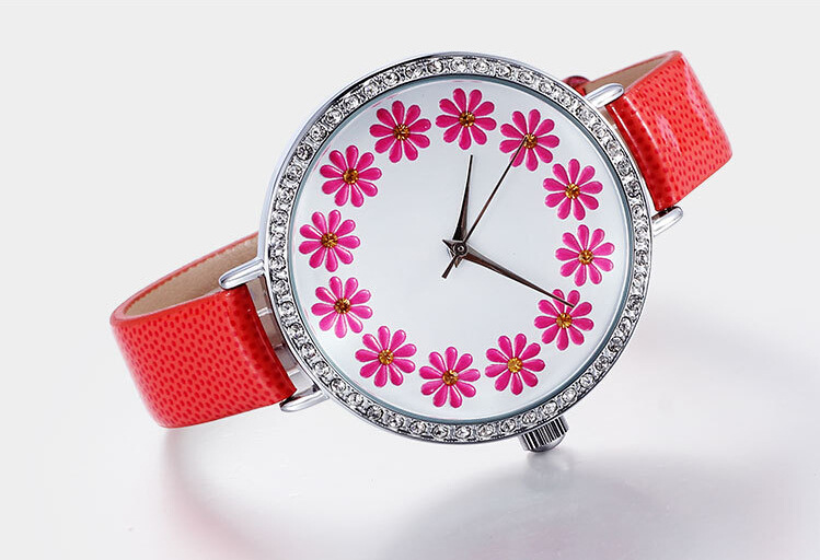 3ATM Water Resistant Japan movement watch fashion brand cute picture for women watches