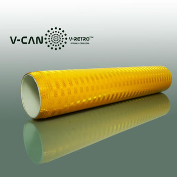 Long Distance Conspicuity Light Reflective Sheet RS-SIPM9600, Micro Prismatic Reflective, ASTM D4956 Type VIII