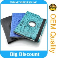 Custom OEM Flip PU Leather Tablet Cover case for ipad air,case for ipad