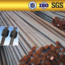 Channel screw steel thread bars sizes 32mm