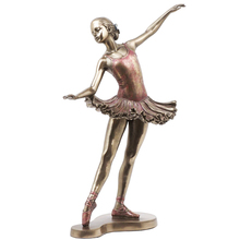Home and Indoor Decoration Cast Bronze Elegant Dancing Lady Statue