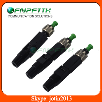 FTTH cable use field assemble 0.2dB fc apc fast connector