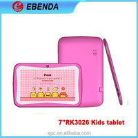 cute design rugged kids game tablets