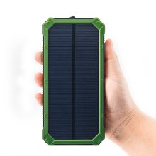 2017 New Products 16V Solar Charger 11200mAh Large Capacity Solar Power Bank for Phone Camera Digital Devices