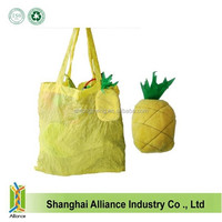 Pineapple Shaped Foldable Shopping Bag/ Cute Fruit Style