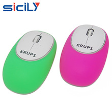Crush resistance 2.4 GHz Optical USB Gel Wireless Mouse with mini Receiver