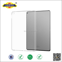 For iPad Pro 12.9 Case CLEAR GRIP Shockproof Soft TPU Rubber Back Cover