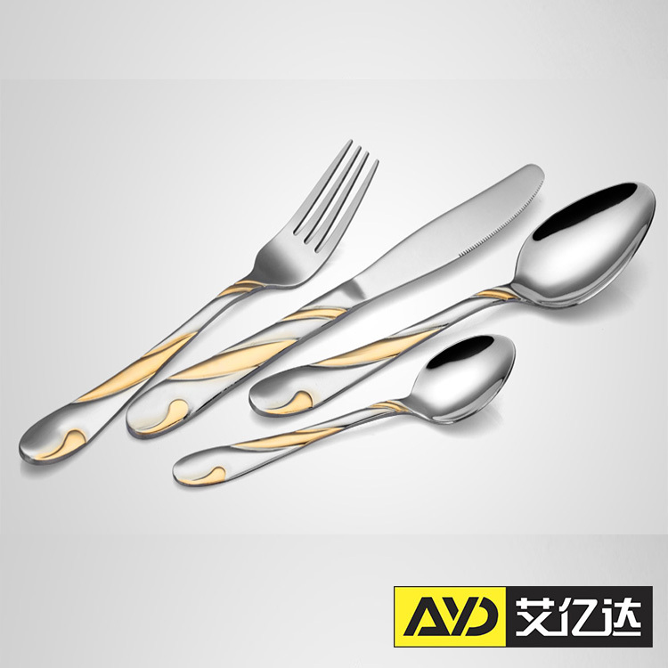 Unique cutlery set stainless steel cutlery sets wedding Unique flatware sets