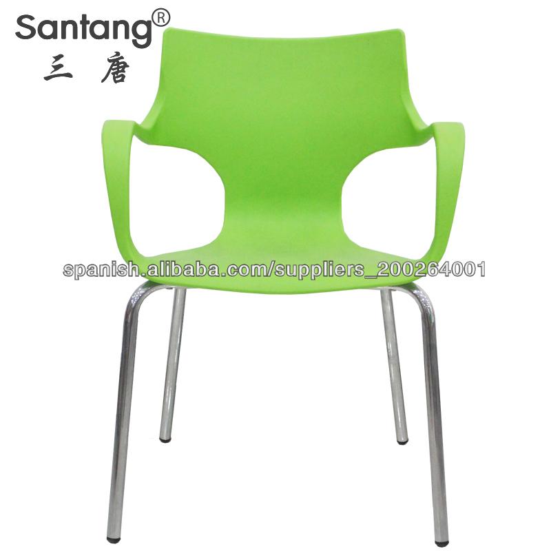 Sill n pl stica sillas del restaurante sillas del - Sillas plastico diseno ...