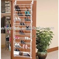 tiers over the door shoe rack