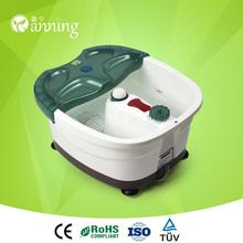 Hot selling foot bath and spa massager with heat,multifunction foot bath massager,plastic foot bath tube