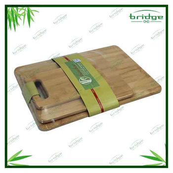 3 size Bamboo kitchen cutting board