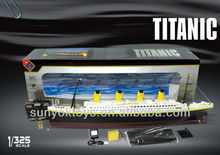 WOW ! 1:325 Scale NQD Emulation TITANIC rc boat
