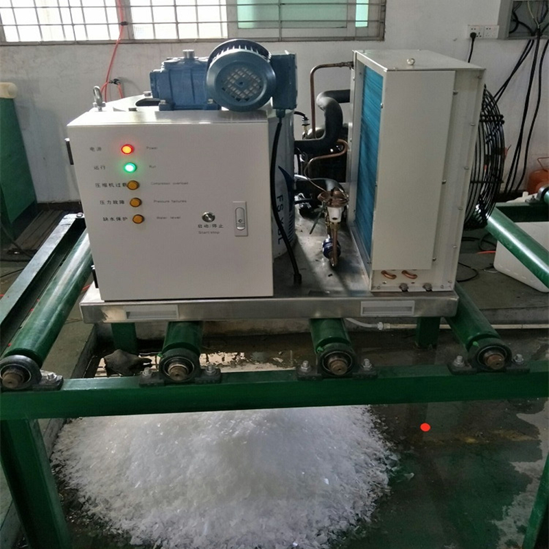 flake ice machine for in plant