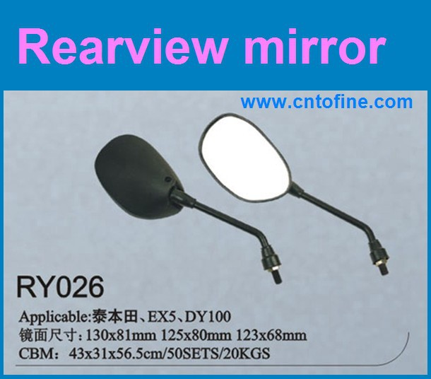 ex5 parts motorcycle accessories side rear view mirror for motor EX5,DY100
